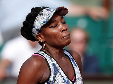 File image of Venus Williams, who is involved in fatal car crash in Florida. AFP
