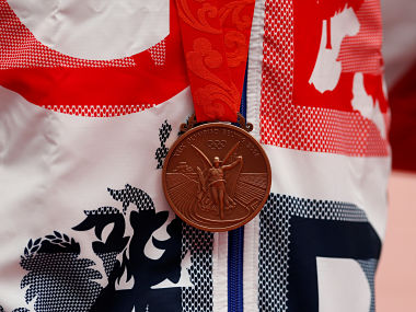 Representative image of an Olympic Bronze medal. Reuters