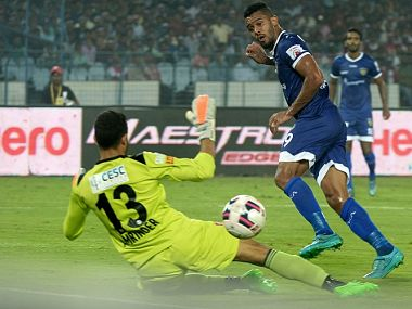 File image of Chennaiyin FC midfielder Raphael Augusto. AFP
