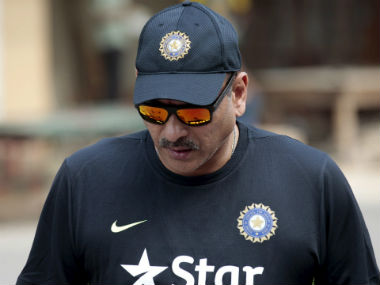 Ravi Shastri had earlier served as the Team Director between 2014 and 2016. Reuters