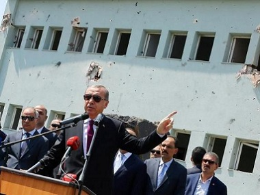 File image of Turkey's President Tayyip Erdogan. Reuters