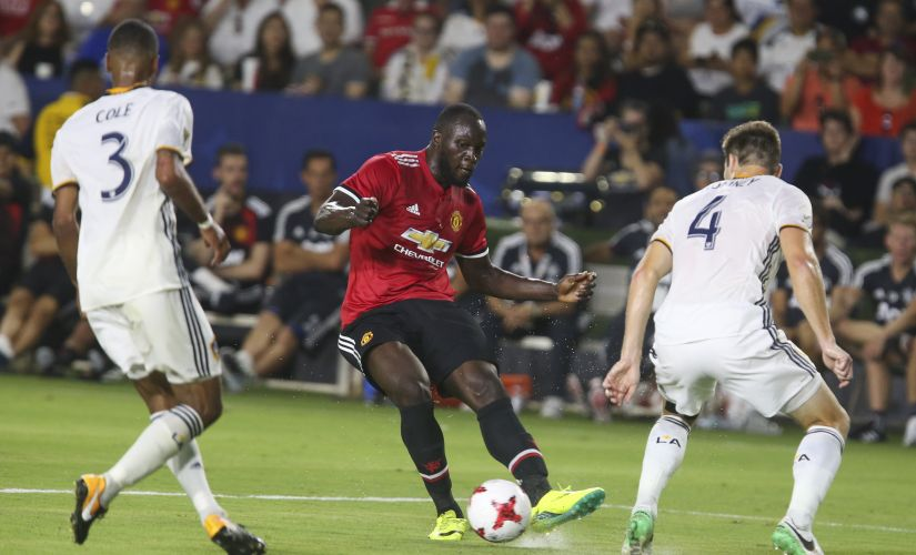Romelu Lukaku made a disappointing performance on his Manchester United debut. AFP