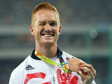 Greg Rutherford won bronze at Rio 2016. Reuters