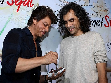 Shah Rukh Khan and Imtiaz Ali. Twitter