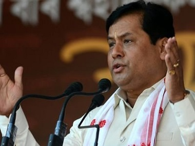 File image of Sonowal Sarbananda. PTI