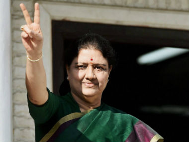 File image of VK Sasikala. PTI