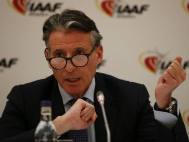 File photo of Sebastian Coe. Reuters
