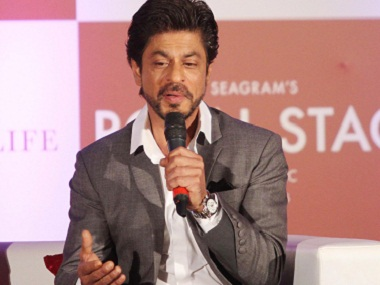 Bollywood actor Shah Rukh Khan during then book launch of author Samar Khan's book, SRK 25 Years of a Life, in Mumbai, India on November 9, 2016. (SOLARIS IMAGES)