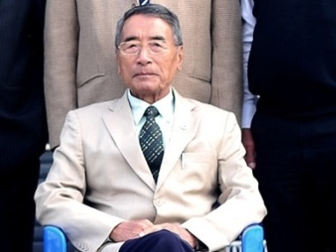 File image of former Nagaland chief minister Shurhozelie Liezietsu. Image courtesy: NPFWEB.ORG