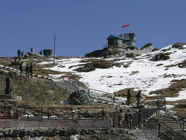 India-China border. Reuters