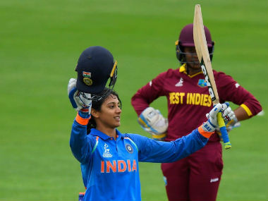 Smriti Mandhana, a lacto-ovo-vegetarian, became the youngest Indian to score a World Cup century. Image courtesy: Mithali Raj via Twitter