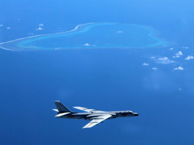 File image of South China sea. AP