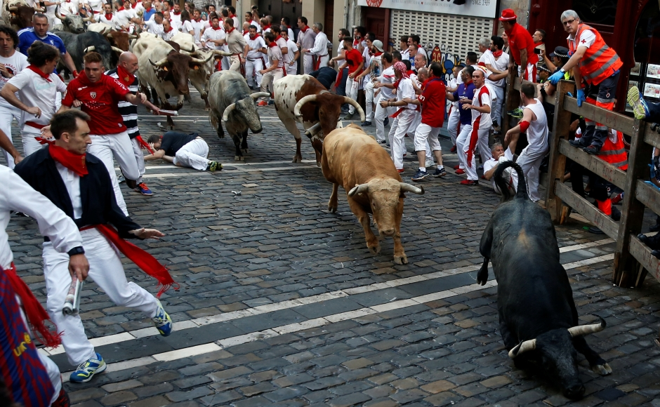Virginia Beach man gored in Spain bull running festival