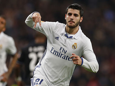 File image of Alvaro Morata. AP