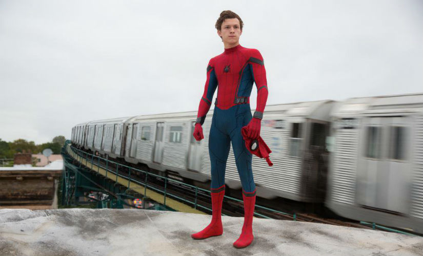 Tom Holland as Spider-Man in Spider-Man: Coming. Image courtesy: @SpiderMan/Twitter