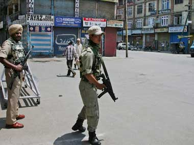 Downtown Srinagar has far more militants than was initially thought. PTI file image