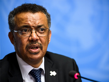File image of new WHO director Tedros. Getty Images