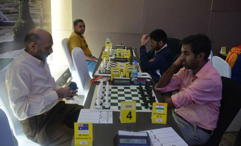 After a slow start, GM Pravin Thipsay won five rounds in a row!