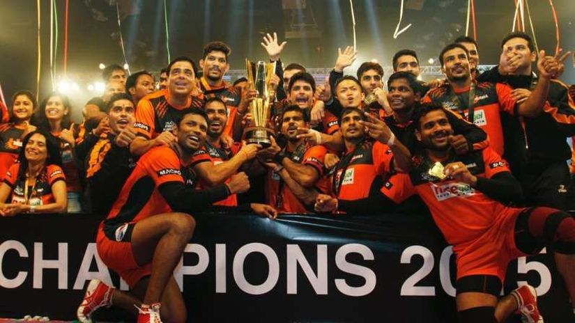 U Mumba won their first and only Pro Kabaddi title after a dominant season. Image COurtesy: ProKabaddi