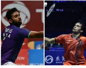 HS Prannoy and Parupalli Kashyap are slated to face each other on Sunday. AFP
