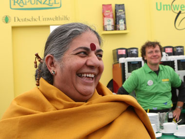 File image of Vandana Shiva. Getty