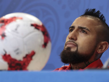 File image of Chile's Arturo Vidal. AP