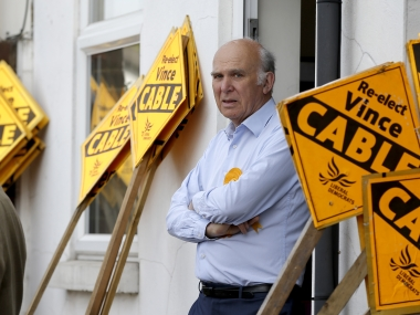 File image of Vince Cable. Reuters