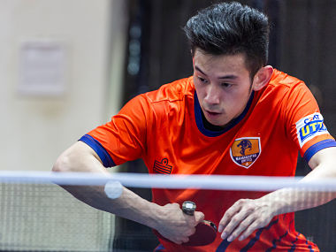 World no.8 Wong Chun Ting prepares for Ultimate Table Tennis match against Oilmax Stag-Yoddhas