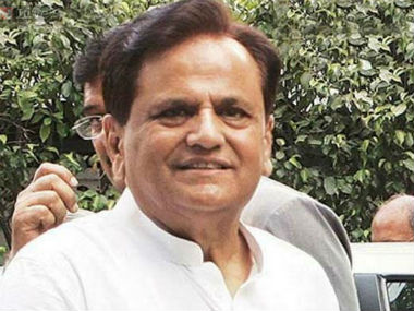 File image of Ahmed Patel. PTI