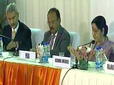 File image of the all party meet. Image courtesy: Twitter/ANI_news