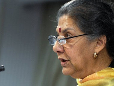 File image of Ambika Soni. PTI