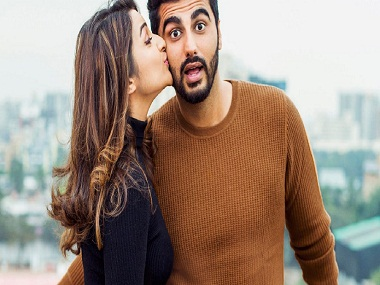 Arjun Kapoor and Parineeti Chopra. Twitter