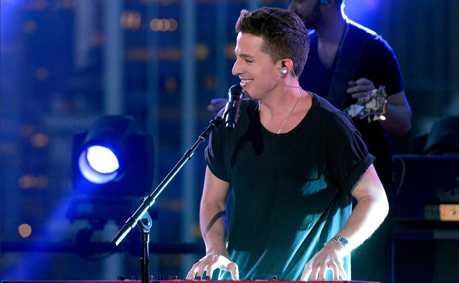 Charlie Puth sang his super-hit 'We Don't Talk Anymore' song at Macy's 4th of July Fireworks Spectacular. Image from Macy's/Twitter.