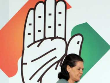 File image of Congress president Sonia Gandhi. AFP