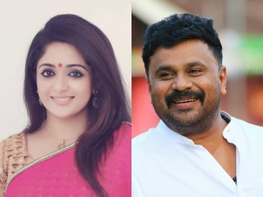 Kavya Madhavan and Dileep. Images from Facebook