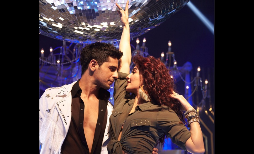 Sidharth Malhotra and Jacqueline Fernandez in a still from 'Disco Disco'. Image from Twitter.