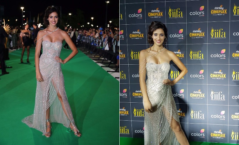 Disha Patani at IIFA 2017. Images from AFP.