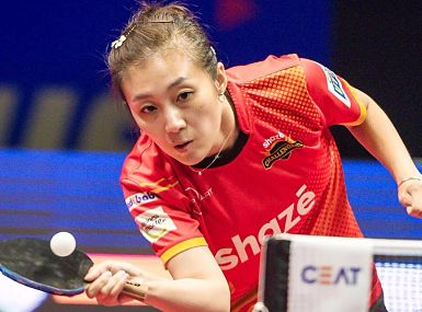 Shaze Challengers' Han Ying is yet to lose a match in the tournament and she will stand between Dabang Smashers T.T.C. and the finals. UTT
