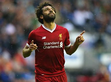 Mohamed Salah hoping for a better life in Premier League with Liverpool. Getty Images