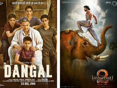 IFFM 2017: Dangal and Baahubali 2: The Conclusion. Images via Facebook