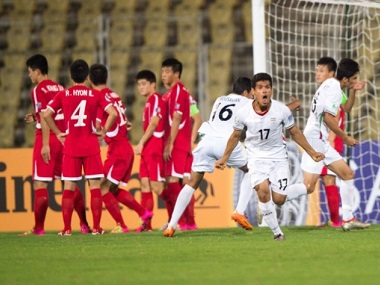Iran players celebrate a goal during the AFC U-16 Championship last year. Image courtesy: AFC