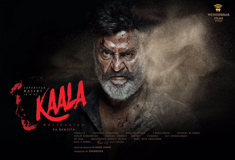 Kaala might be Rajinikanth's last film before he takes the plunge into a political career. Image via twitter