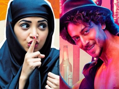 The posters of Lipstick Under My Burkha and Munna Michael. Images from Facebook