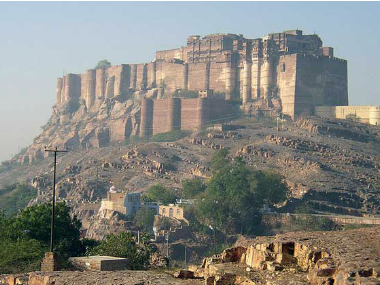 Mehrangarh fort. News18