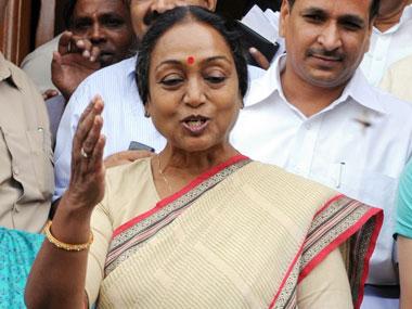 File image of Meira Kumar. AFP