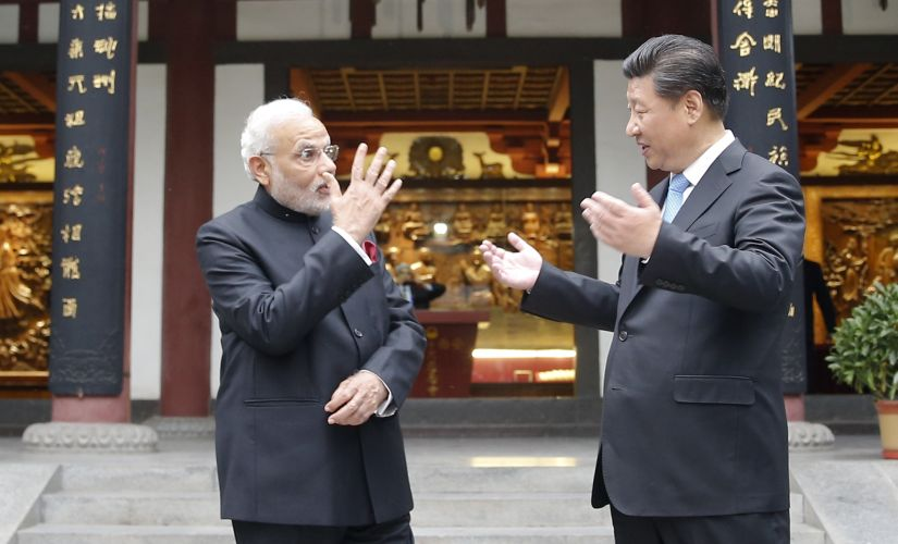 A file image of Prime Minister Narendra Modi and Chinese President Xi Jinping. Getty Images