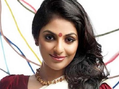 Malayalam actress Mythili. Image from Twitter.