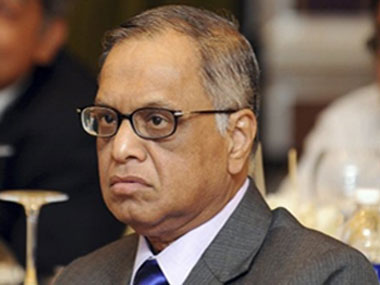 File image of Infosys founder Narayana Murthy