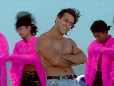 Salman Khan in O O Jaane Jaana. Youtube screengrab
