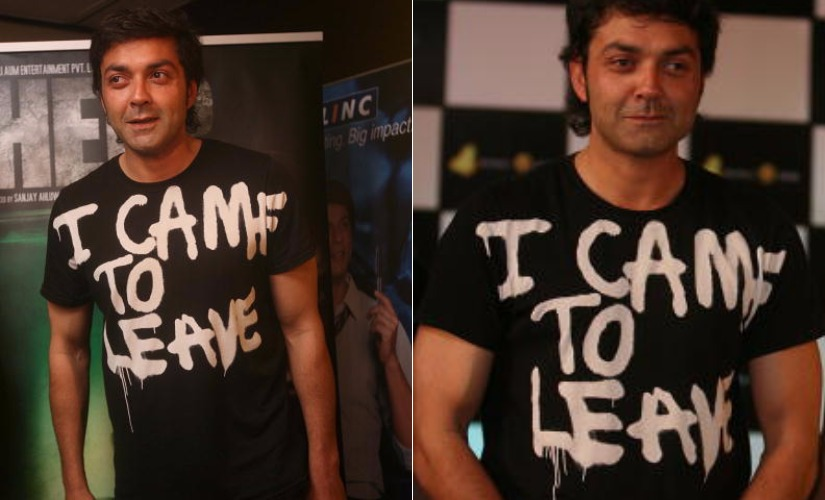 Bobby Deol. Images from Getty Images.